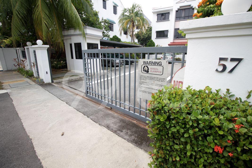 Telok Kurau Lodge  Entrance