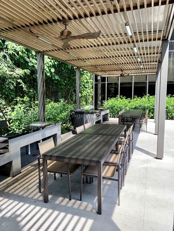 dining pavilions