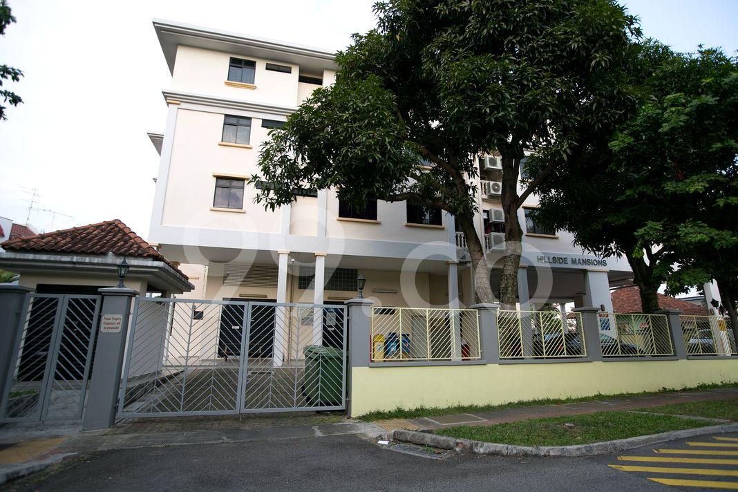 Hillside Mansions  Entrance