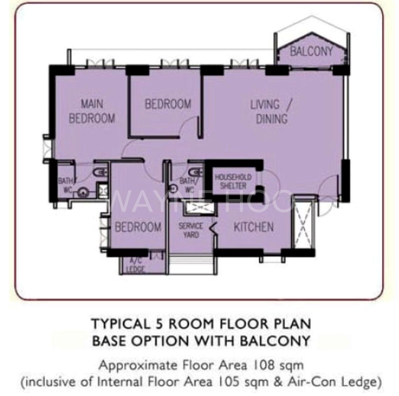 86 Skyville at Dawson - Floor plan