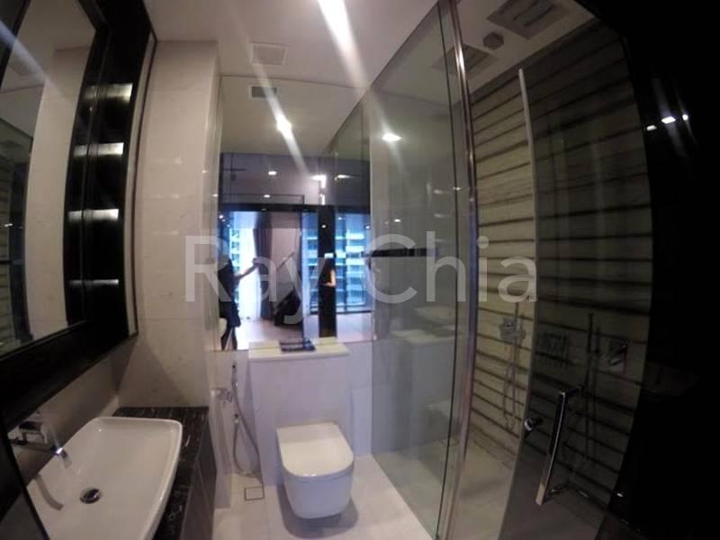 Designer Bathroom Attached to Bedroom