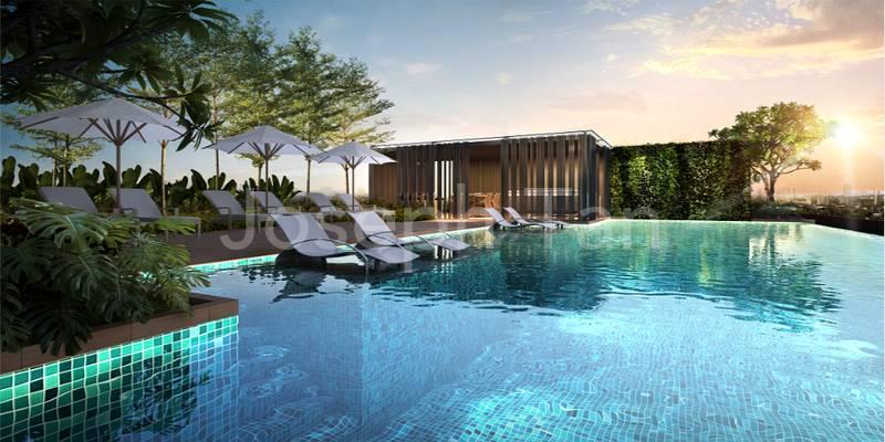 21 meters lap pool