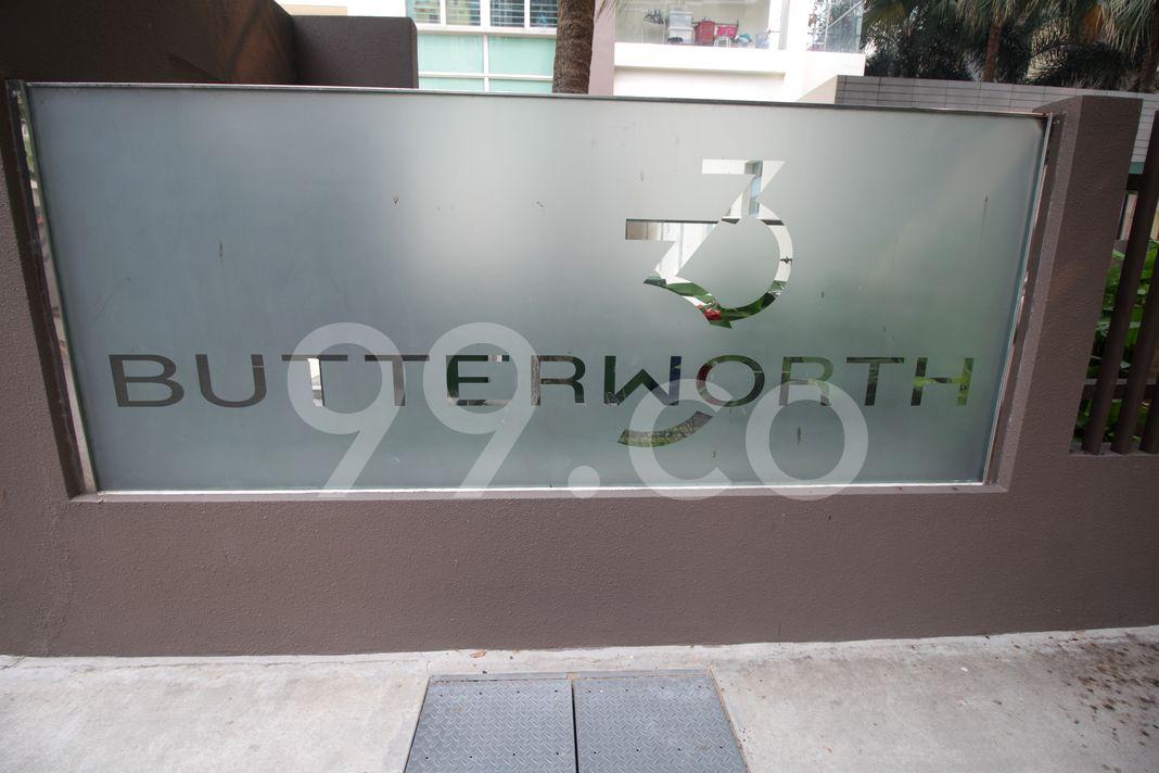 Butterworth 33  Logo