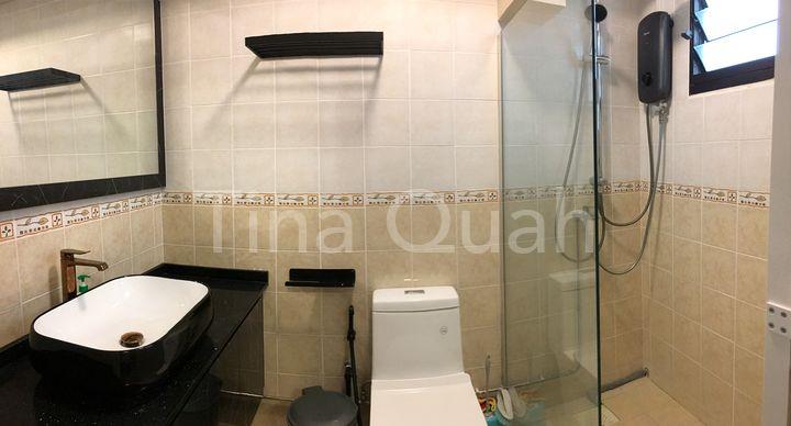 Master Bathroom Pano View