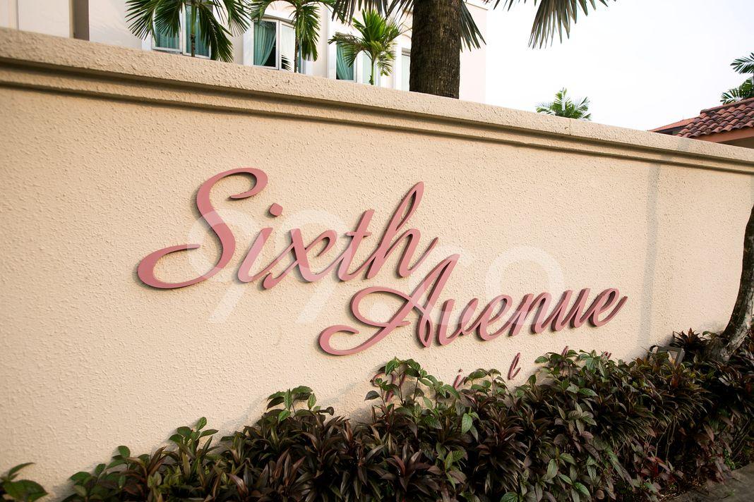 Sixth Avenue Ville  Logo