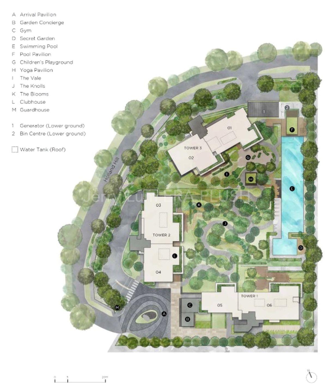 Site Plan & Amenities