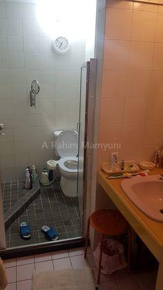 Shared bath on level 2