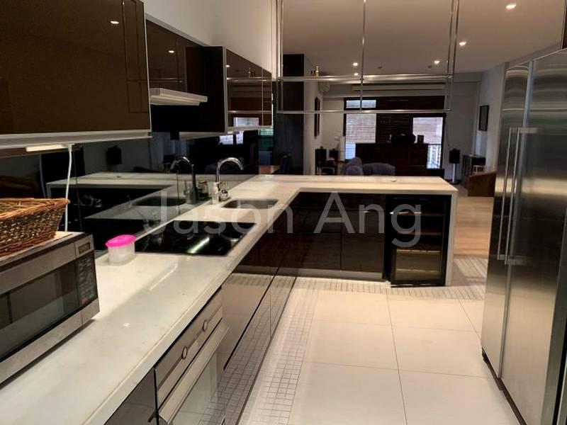 Dry kitchen area
