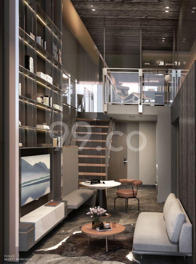 120 Grange Living Room