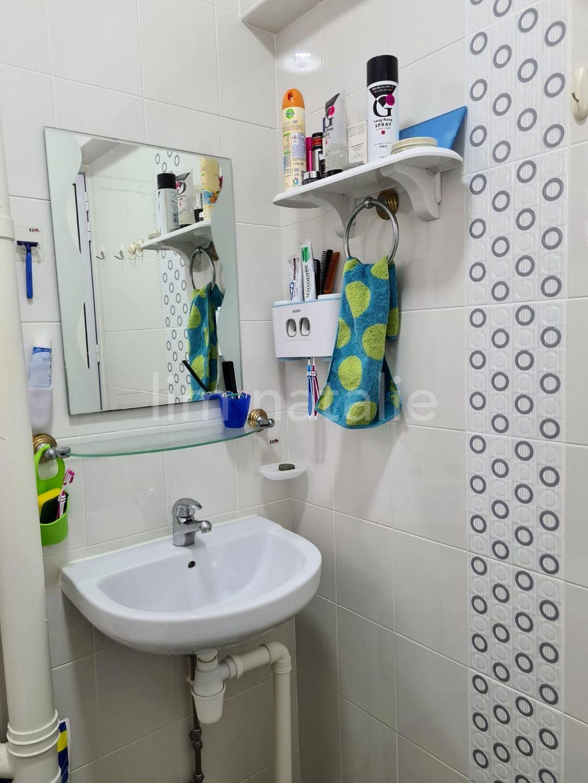 Master bedroom attached bathroom. Blk 223 Serangoon
