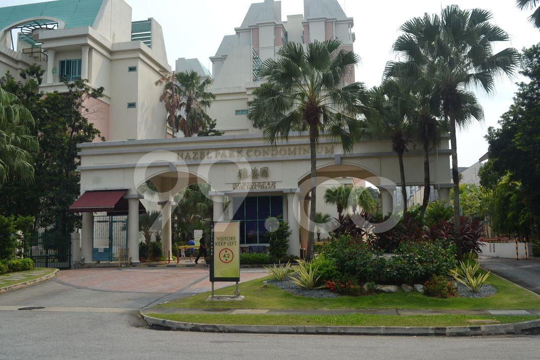 Hazel Park Condominium  Entrance