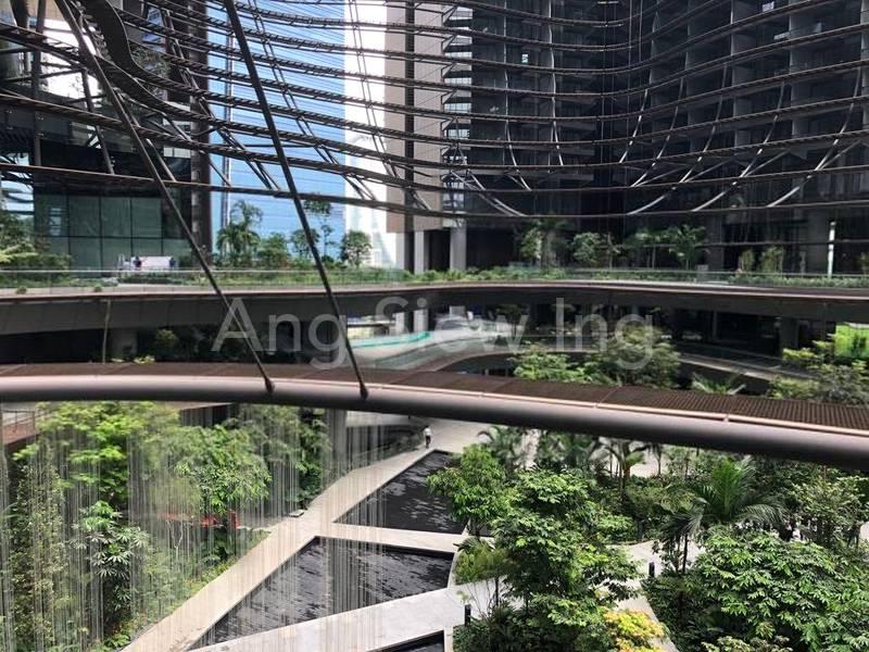 65,000 sqft garden within the development (Actual photo shot)
