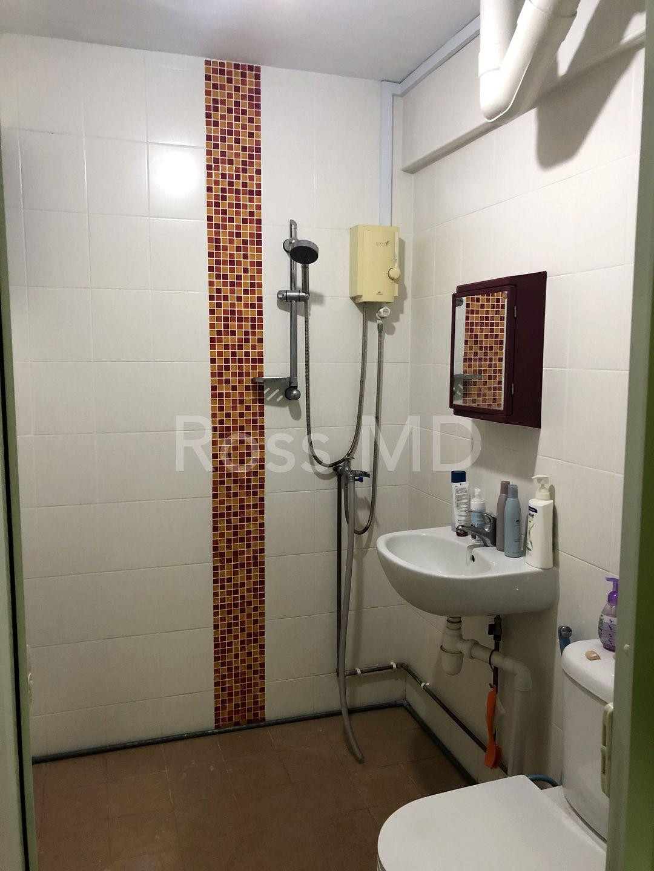 Upgraded toilet.
