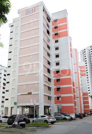 HDB-Jurong East Block 224 Jurong East