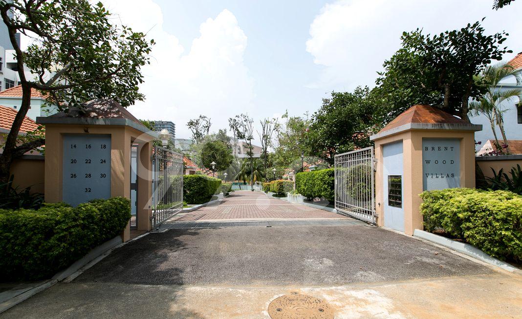 Brentwood Villas  Entrance