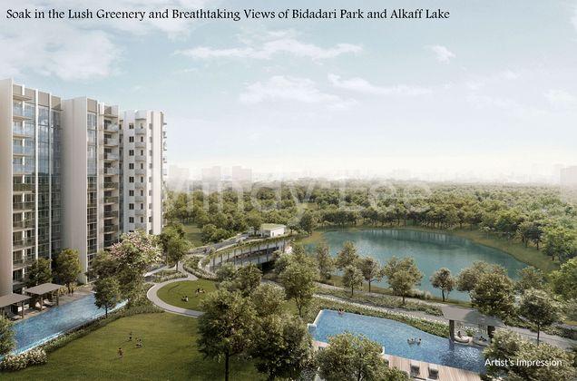 Soak in the Lush Greenery and Breathtaking Views of Bidadari Park and Alkaff Lake