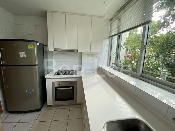 bright kitchen with window