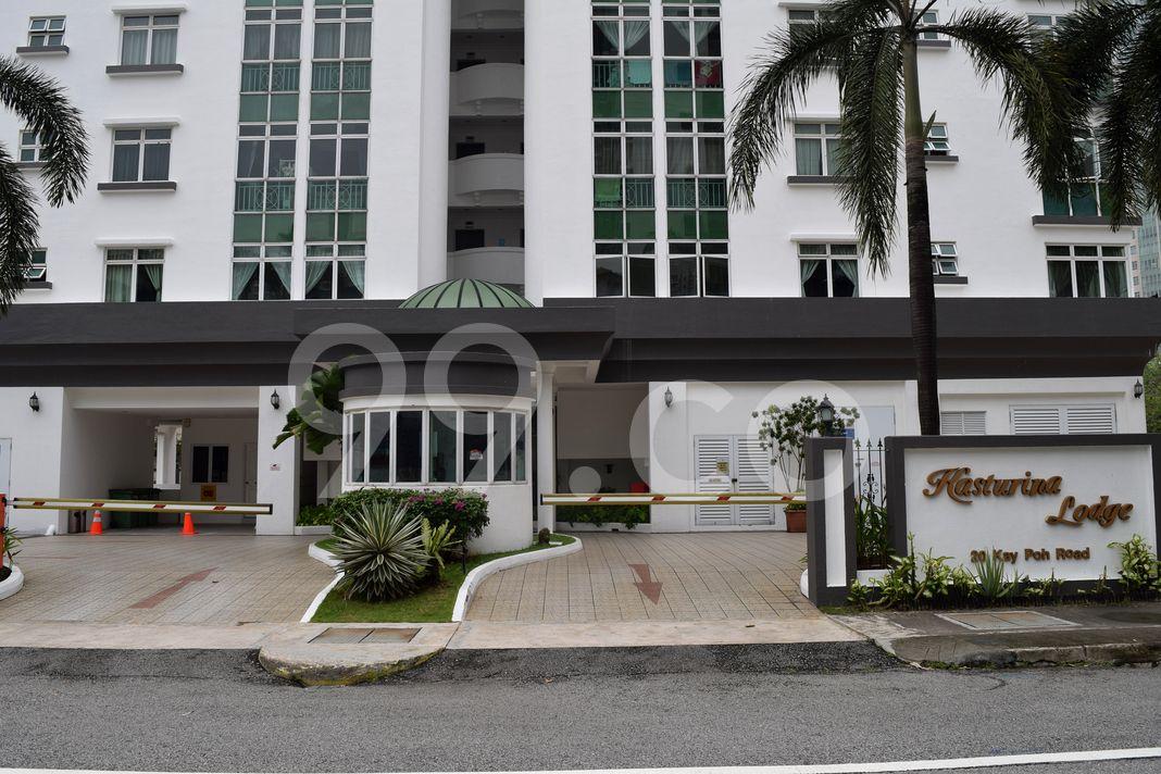Kasturina Lodge  Entrance