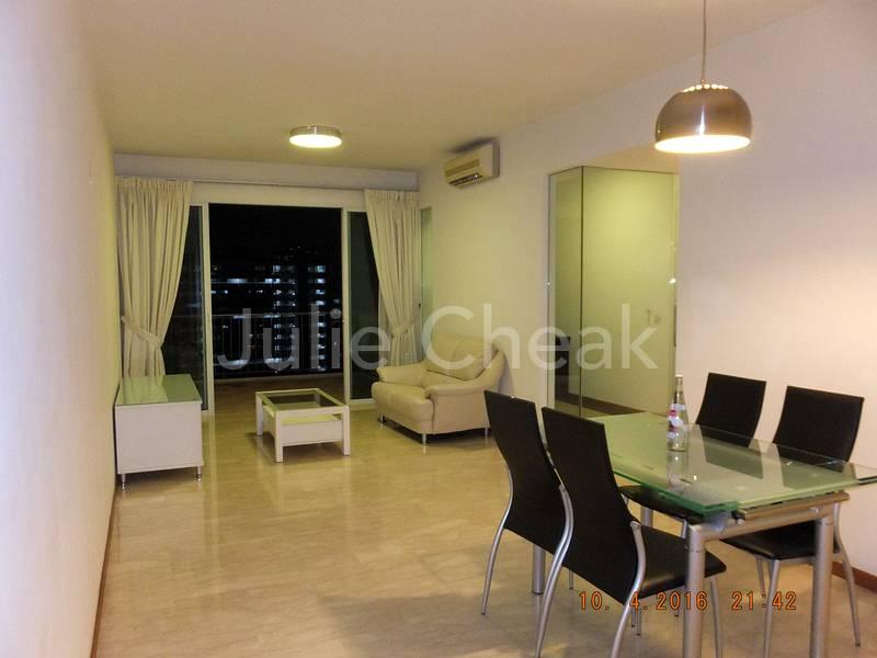 Dining Area/Living Hall/ Balcony
