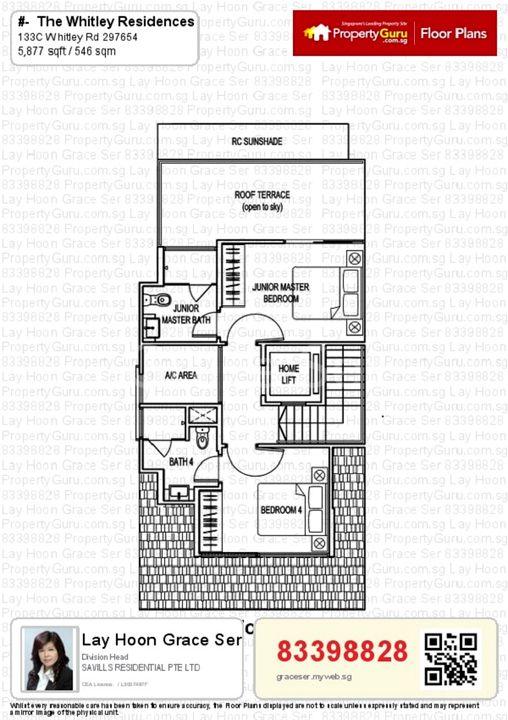 3es storey floor plan