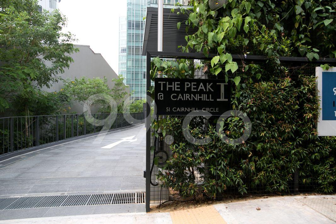 The Peak @ Cairnhill I  Logo