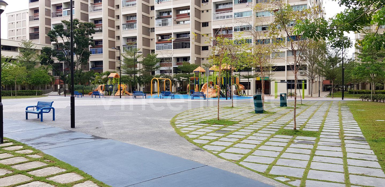 Huge playground area
