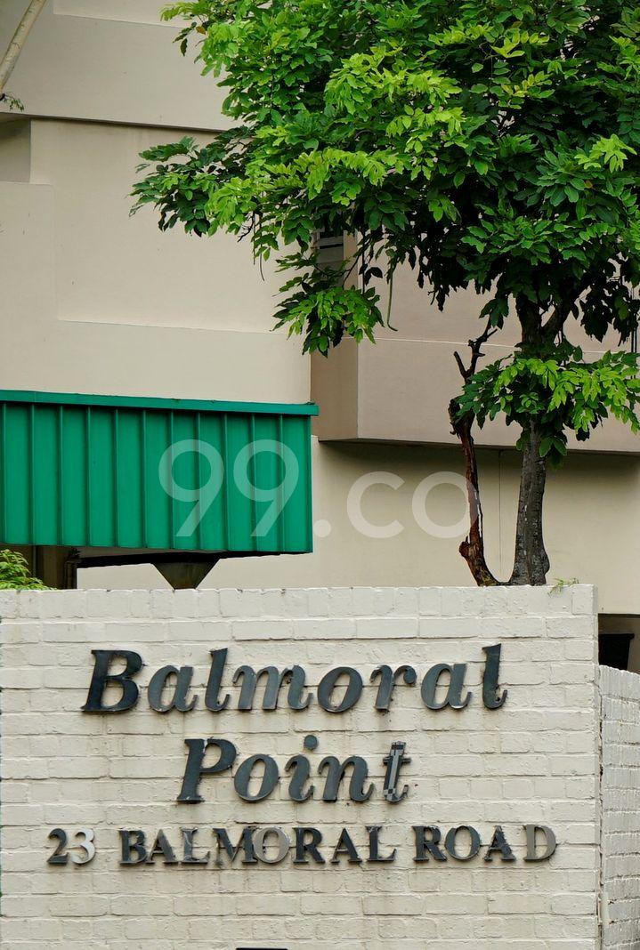 Balmoral Point  Logo