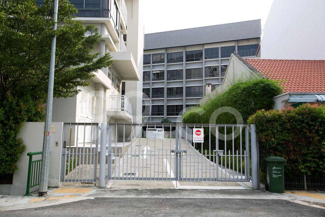 Residences Botanique  Entrance