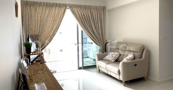 Bright cosy living room area