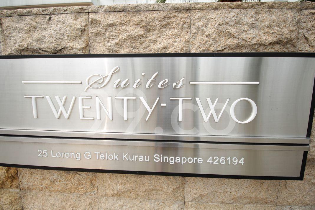 Suites Twentytwo  Logo