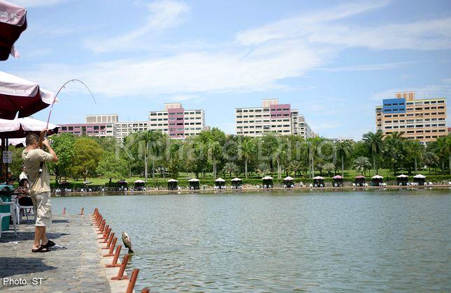 Pasir Ris Fishing Pond