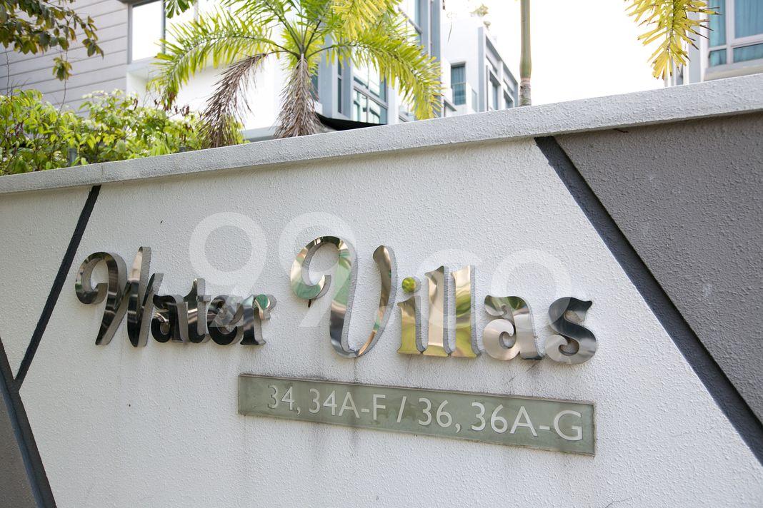 Water Villas  Logo