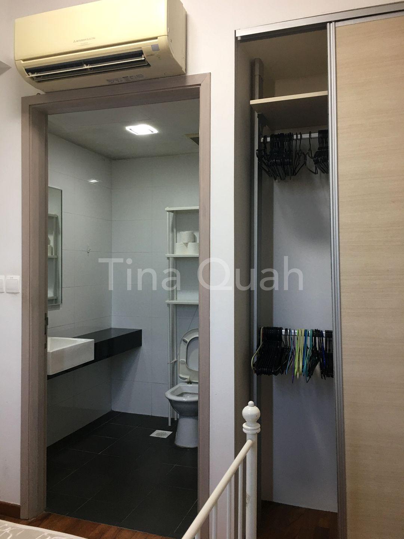 Bathroom and wardrobe