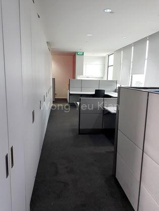 Full Length Built-in Cabinets.