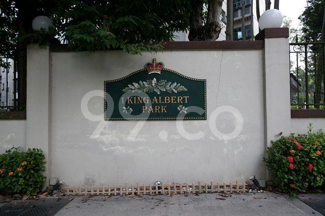 King Albert Park King Albert Park - Logo