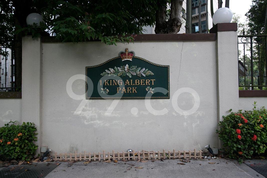 King Albert Park  Logo