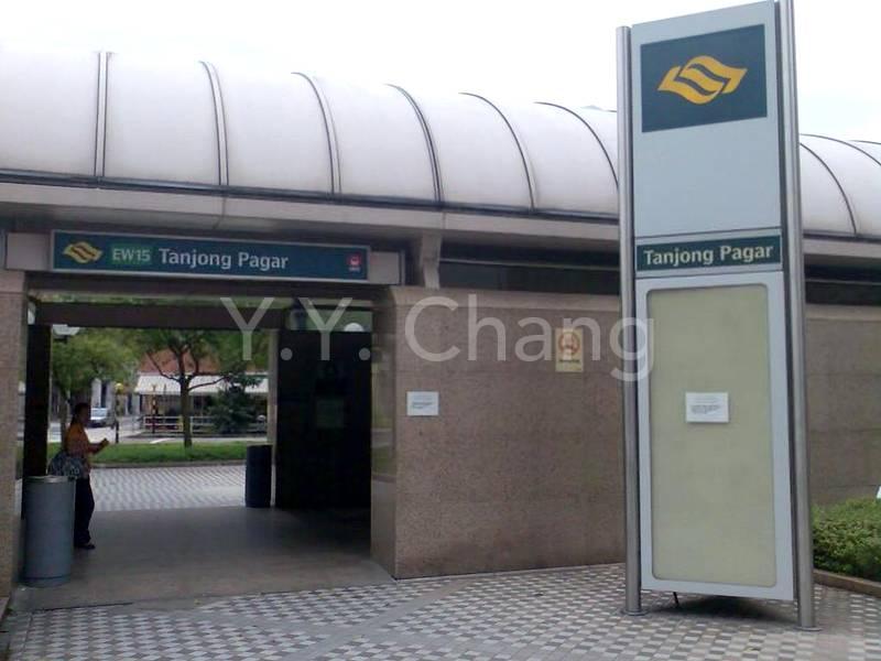 Staffs use Tanjong Pagar station to access