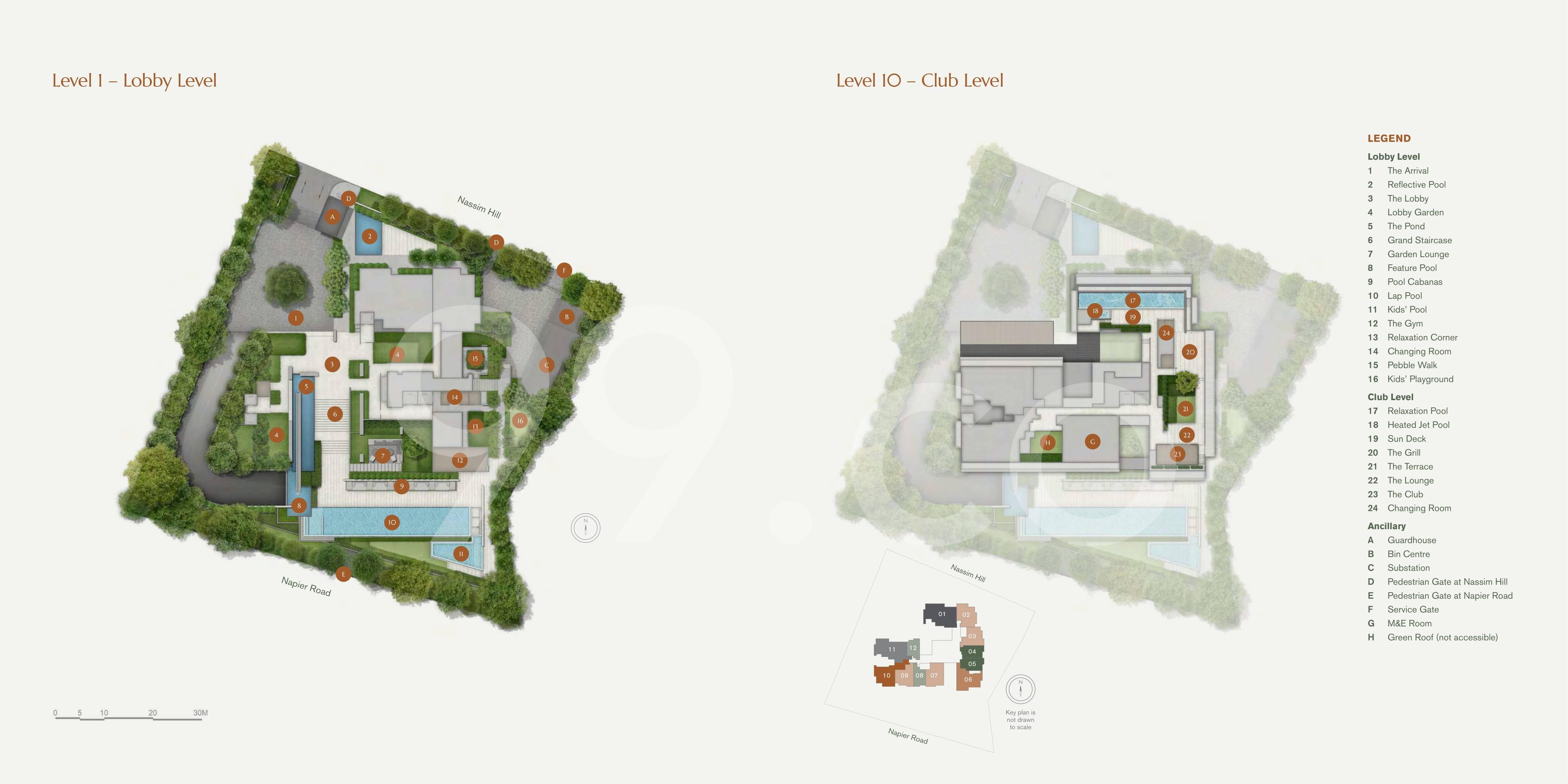 19 Nassim site plan