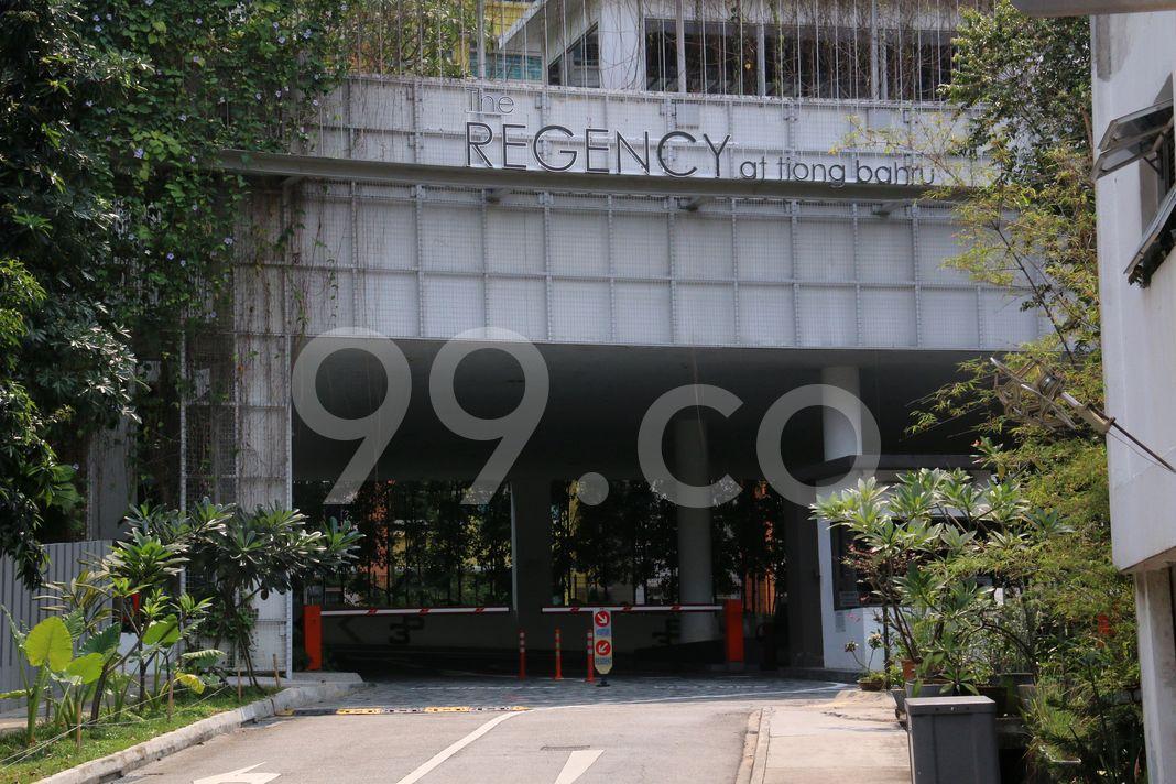 The Regency At Tiong Bahru  Entrance