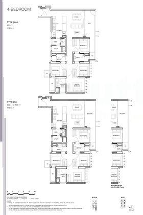 4-bedroom with yard floor plan