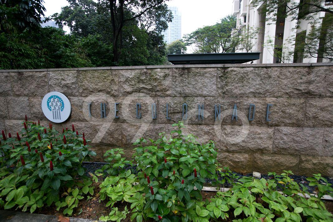 The Colonnade  Logo