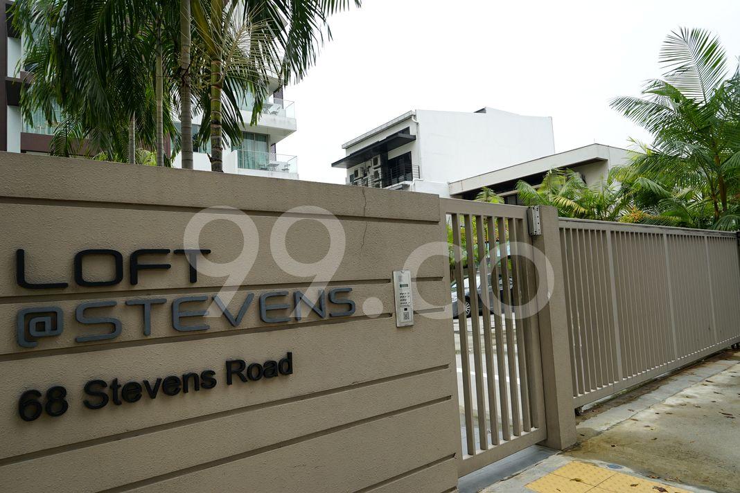 Loft @ Stevens  Entrance