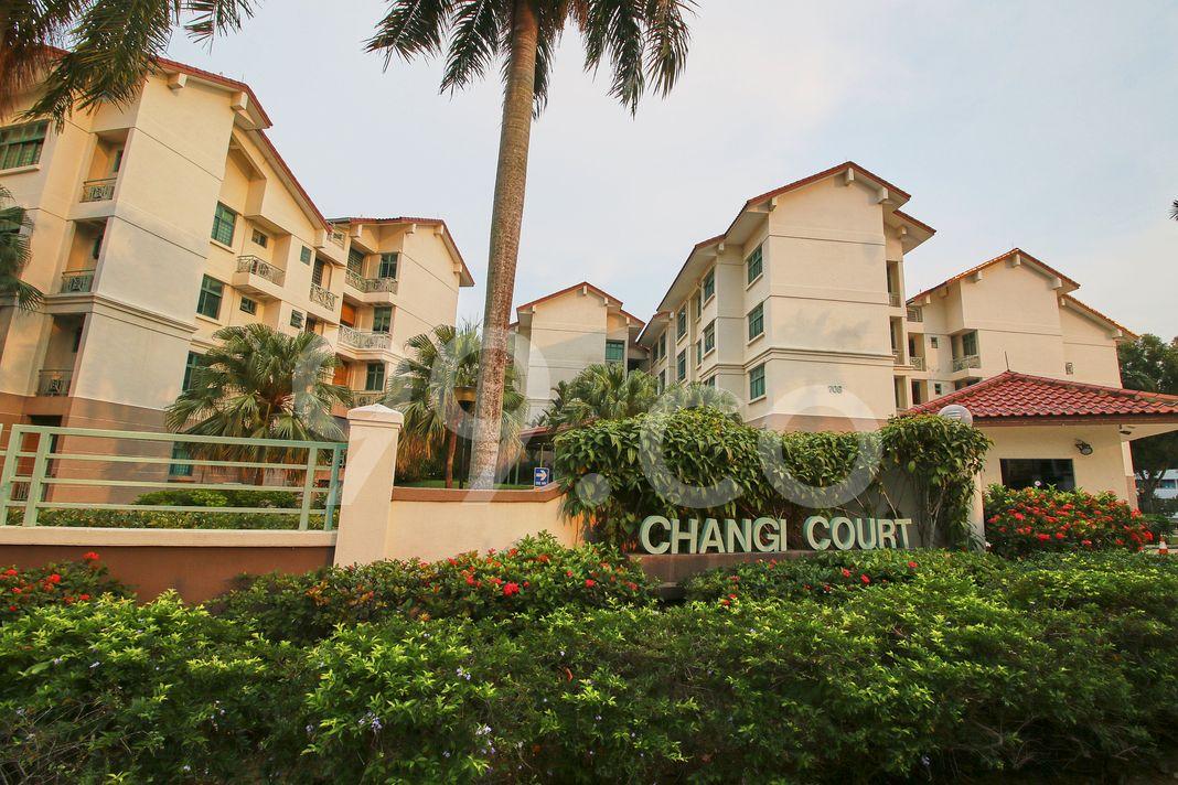 Changi Court  Elevation