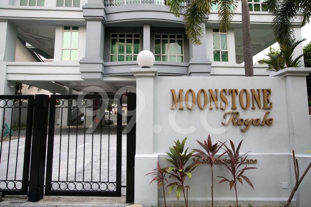 Moonstone Royale  Logo