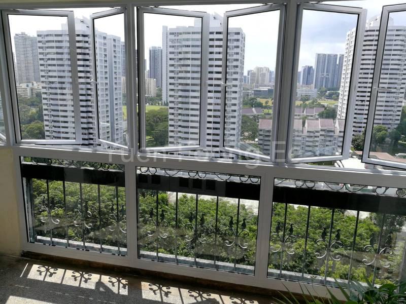 New Windows for the Balcony