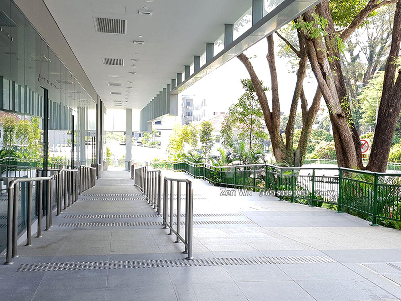 Ground Floor & Surrounding Greenery