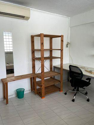 Shelves & study desk