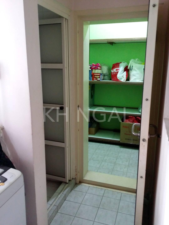 Unit's storeroom (bomb shelter)