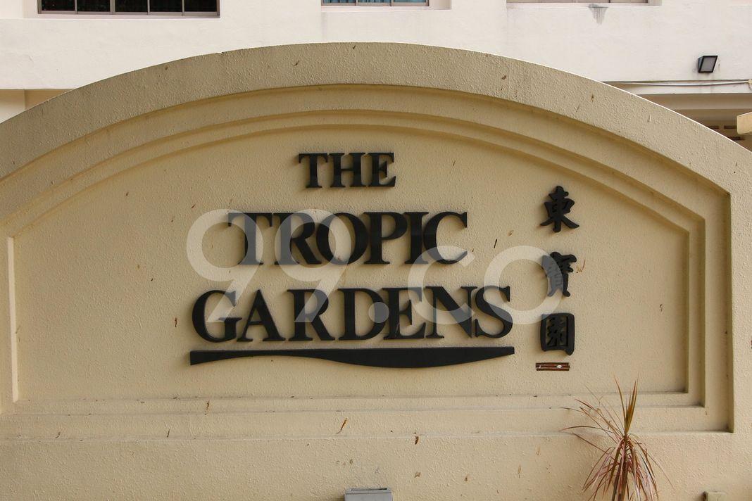The Tropic Gardens  Logo