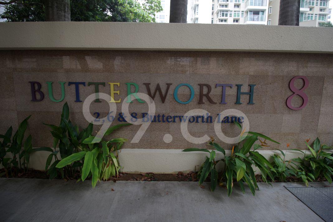 Butterworth 8  Logo